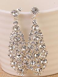 cheap -Women's Hoop Earrings - Gold / Silver For Wedding / Party / Halloween