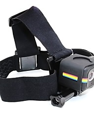 TELESIN Head Strap with Frame Housing Mount Adapter Supports for Polaroid Cube and Cube