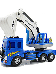 cheap -Lili Pull Back Vehicle Pull Back Car / Inertia Car Construction Truck Set Excavator Excavating Machinery Novelty Classic & Timeless Boys'