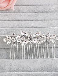 Недорогие -кристалл горный хрусталь волосы гребни головной убор классический женский стиль
