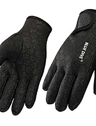 Diving Gloves Sports Gloves Fishing Gloves Nylon Neoprene Full-finger Gloves Keep Warm Windproof Wearproof Tactical Anti-skidding