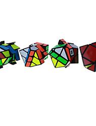preiswerte -Zauberwürfel Alien Skewb Fischer-Würfel Drehwürfel Skewb Würfel Glatte Geschwindigkeits-Würfel Magische Würfel Puzzle-Würfel ABS
