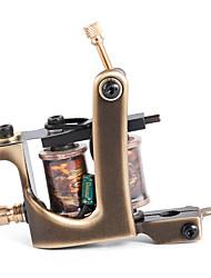 solong Tätowierung benutzerdefinierte Messing Tattoo Maschinengewehr handgefertigt 12 wickeln reine Kupferspulen für Liner m203-1