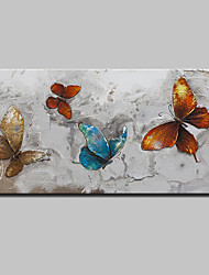 Hand Painted Animal Butterfly Oil Paintings On Canvas Modern Abstract Wall Art Pictures For Home Decoration Ready To Hang