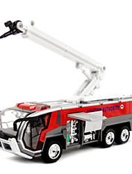cheap -Toy Cars Model Car Fire Engine Vehicle Toys Novelty Simulation Car Fire Engines Metal Alloy Metal Alloy Metal Classic & Timeless Pieces