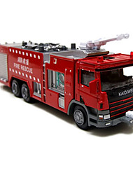 cheap -KDW Toy Cars Truck Construction Vehicle Fire Engine Vehicle Dozer Excavator Toys Novelty Truck Excavating Machinery Chariot Fire Engines