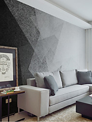 Art Deco Wallpaper For Home Wall Covering Canvas Adhesive required Mural Abstract Simple Black and White  XXXL(448*280cm)XXL(416*254cm)XL(312*219cm)