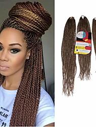 economico -Senegal Alta qualità 100% capelli kanekalon Extension di capelli umani Trecce Twist capelli Trecce Quotidiano
