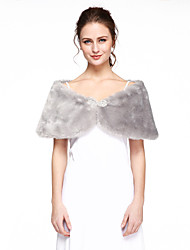 cheap -Faux Fur Wedding Party/Evening Women's Wrap Capelets Elegant Style