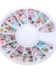 economico -1pcs Chiodo decorazione di arte strass Perle Cosmetici e trucchi Fantasie design per manicure