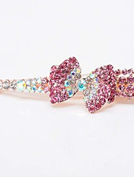 Girls In America And Europe Pop Beautiful Shiny Gradient Diamond  High-grade Flower Horn Clamp