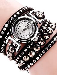 ieftine -Pentru femei Pentru copii Simulat Diamant Ceas Ceas de Mână Ceas Brățară Ceas Elegant  Ceas La Modă Quartz imitație de diamant Material