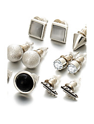 cheap -Stud Earrings Imitation Pearl Rhinestone Alloy Jewelry For Wedding Party Daily Casual Sports