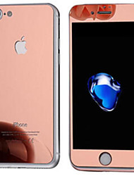 cheap -For Iphone7 Front and Back The High-Definition Film Plating Tempered Film Plus Packaging