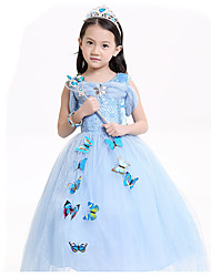 Princess Fairytale Cosplay Costumes Party Costume Kid Halloween Christmas Carnival Children's Day Festival/Holiday Halloween Costumes