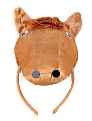 Недорогие -CHENTAO Головной убор Резинка для волос Лошадь Плюш Универсальные Детские Взрослые Подарок 1pcs