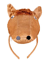 cheap -CHENTAO Headgear Hair Band Toys Horse Plush Children's Unisex 1 Pieces