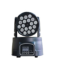 U'King® 18 LEDs Moving Head Stage Light DMX Sound Control for DJ show TV theatre Discotheques Home Party etc 1pcs