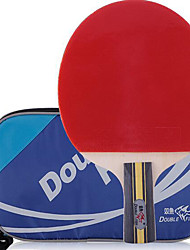 Table Tennis Rackets Rubber Short Handle Pimples Indoor Leisure Sports