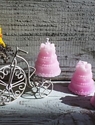 Wedding Cake Pink Candle Favor Beter Gifts® Life Style