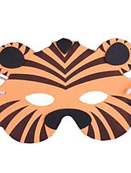 economico -Maschera animale Tiger Plastica Unisex Per adulto Regalo 1pcs