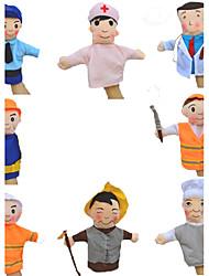 cheap -Finger Puppet Model & Building Toy Novelty Textile Cotton Rainbow