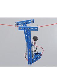 Giocattoli a energia solare Kit fai-da-te Robot Giocattoli Guerriero Macchina Robot Novità Fai da te Da ragazzo Pezzi