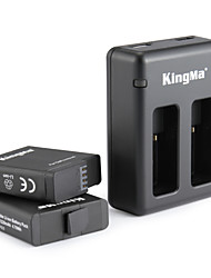 abordables -KingMa® Chargeur batterie For Gopro Hero 5 Plongée Vélo