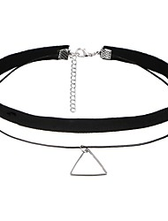 cheap -Choker Necklace - Lace Vintage, Euramerican Black Necklace For Party, Halloween, Birthday / Daily / Casual