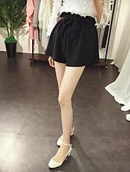 New coreano gemma sciolto una parola pantaloni gamba 2.016 estivi larghi temperamento selvaggio era allampanato bicchierini della vita, le