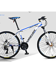 cheap -Mountain Bike Cycling 30 Speed 26 Inch / 700CC MICROSHIFT Oil Disc Brake Suspension Fork Ordinary / Standard / Anti-slip Aluminium