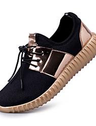 мужчины кроссовки весна лето осень приятный резиновый открытый дышащий спортивный плоский каблук фитнес&перекрестное обучение