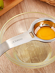 cheap -RYBACK Stainless Steel Egg White Yolk Filter Separator Cooking Tool Dishwasher Safe Chef Kitchen Gadget