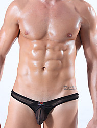 cheap -sexy clothing Push-Up Color Block Briefs  Underwear,Ice Silk