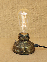 cheap -Rustic / Lodge / Novelty LED Desk Lamp For Metal 220-240V