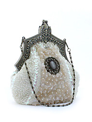 cheap -Women's Bags Polyester Evening Bag Sequin Flower Ruffles for Wedding Event/Party Casual Formal Office & Career Winter Spring Summer Fall