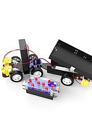 economico -Giocattoli per Ragazzi Giochi educativi Kit fai-da-te Gioco educativo Carrello elevatore ABS Nero