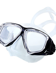 cheap -Swim Mask Goggle Swimming Goggles Diving Mask Anti-Fog Adjustable UV Protection Waterproof 180 Degree View Swimming Diving Silicone