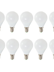E14 E26/E27 LED Globe Bulbs G45 6 leds SMD 2835 680lm Warm White Cold White 3000/6500K Decorative AC 220-240