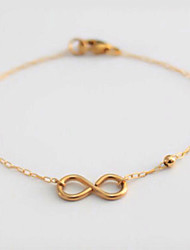 cheap -Chain Bracelet Bohemian Movie Jewelry Handmade Alloy Leaf Infinity Jewelry Christmas Gifts Wedding Party Birthday Engagement Costume