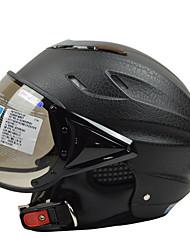 Casque Bol Anti buée Respirable ABS Casques de moto