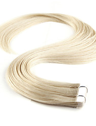 cheap -Tape In Human Hair Extensions Human Hair Straight 10Pcs/Pack 16 inch