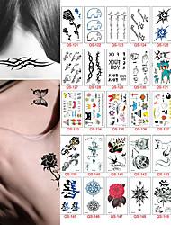 30 Tatuajes Adhesivos Otros Non ToxicBebé Niños Mujer Hombre Juventud flash de tatuaje Los tatuajes temporales