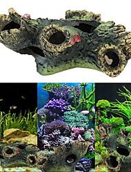 Недорогие -Оформление аквариума Дерево Каучук