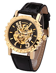 cheap -Men's Sport Watch / Fashion Watch / Dress Watch Designers / Swiss Genuine Leather Band Charm / Casual Multi-Colored / Automatic self-winding