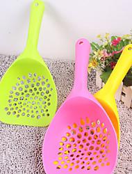 The New Pet Cat Litter Shovel Shovel Shovel Oversized Round Pick Up Dog And Cat Toilet Cleaning Supplies