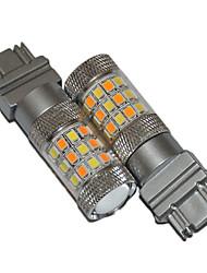voiture t25 ampoules LED doubles couleurs conduit ampoules voiture inverse ampoule led lampe LED de frein