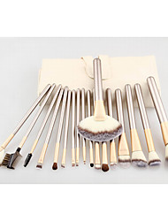 cheap -18pcs Contour Brush Makeup Brush Set Blush Brush Eyeshadow Brush Lip Brush Brow Brush Concealer Brush Fan Brush Powder Brush Foundation Brush