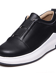 Women's Loafers & Slip-Ons Comfort Light Soles Creepers Leatherette Spring Summer Fall Winter Athletic Casual Outdoor WalkingComfort