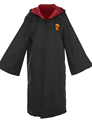 cheap -Harry Black Cloak from Movie Cosplay Kids Costumes Halloween Cosplay Costumes Potter
